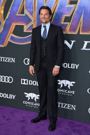 """US actor Bradley Cooper arrives for the World premiere of Marvel Studios' """"Avengers: Endgame"""" at the Los Angeles Convention Center on April 22, 2019 in Los Angeles. (Photo by VALERIE MACON/AFP/Getty Images)"""