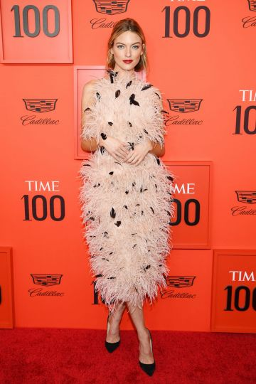 Martha Hunt attends the TIME 100 Gala Red Carpet at Jazz at Lincoln Center on April 23, 2019 in New York City. (Photo by Dimitrios Kambouris/Getty Images for TIME)