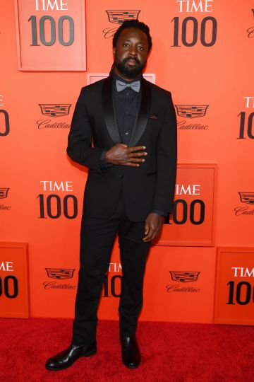 Marlon James attends the TIME 100 Gala Red Carpet at Jazz at Lincoln Center on April 23, 2019 in New York City. (Photo by Dimitrios Kambouris/Getty Images for TIME)