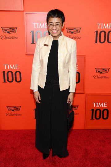 Maria Ressa attends the TIME 100 Gala Red Carpet at Jazz at Lincoln Center on April 23, 2019 in New York City. (Photo by Dimitrios Kambouris/Getty Images for TIME)