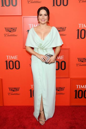 Sophia Bush attends the TIME 100 Gala Red Carpet at Jazz at Lincoln Center on April 23, 2019 in New York City. (Photo by Dimitrios Kambouris/Getty Images for TIME)
