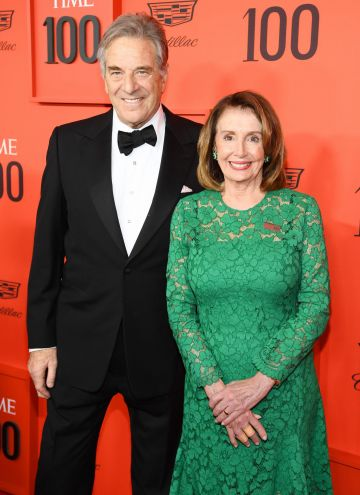Paul Pelosi (L) and Nancy Pelosi attend the TIME 100 Gala Red Carpet at Jazz at Lincoln Center on April 23, 2019 in New York City. (Photo by Dimitrios Kambouris/Getty Images for TIME)