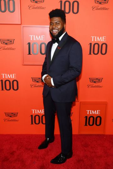 Khalid attends the TIME 100 Gala Red Carpet at Jazz at Lincoln Center on April 23, 2019 in New York City. (Photo by Dimitrios Kambouris/Getty Images for TIME)