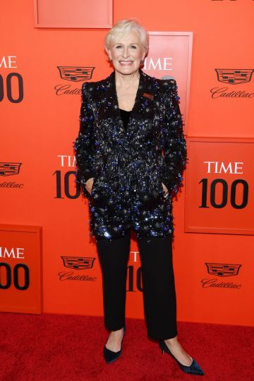 Glenn Close attends the TIME 100 Gala Red Carpet at Jazz at Lincoln Center on April 23, 2019 in New York City. (Photo by Dimitrios Kambouris/Getty Images for TIME)