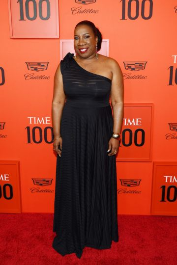 Tarana Burke attends the TIME 100 Gala 2019 Lobby Arrivals at Jazz at Lincoln Center on April 23, 2019 in New York City. (Photo by Dimitrios Kambouris/Getty Images for TIME)