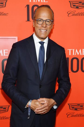 Lester Holt attends the TIME 100 Gala Red Carpet at Jazz at Lincoln Center on April 23, 2019 in New York City. (Photo by Dimitrios Kambouris/Getty Images for TIME)