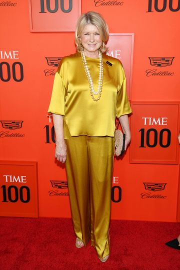 Martha Stewart attends the TIME 100 Gala Red Carpet at Jazz at Lincoln Center on April 23, 2019 in New York City. (Photo by Dimitrios Kambouris/Getty Images for TIME)