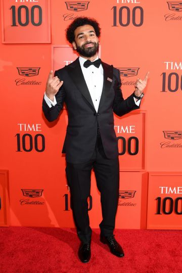 Mohamed Salah attends the TIME 100 Gala Red Carpet at Jazz at Lincoln Center on April 23, 2019 in New York City. (Photo by Dimitrios Kambouris/Getty Images for TIME)