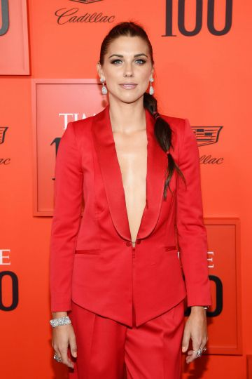 Alex Morgan attends the TIME 100 Gala Red Carpet at Jazz at Lincoln Center on April 23, 2019 in New York City. (Photo by Dimitrios Kambouris/Getty Images for TIME)