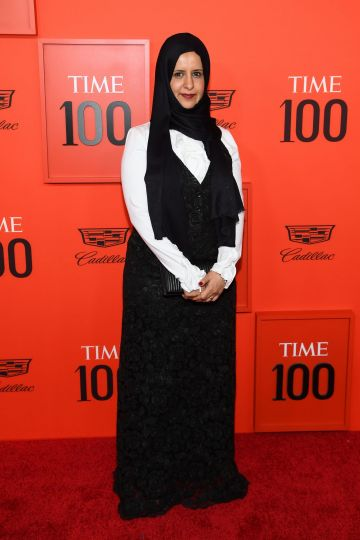 Radhya al-Mutawakel attends the TIME 100 Gala 2019 Lobby Arrivals at Jazz at Lincoln Center on April 23, 2019 in New York City. (Photo by Dimitrios Kambouris/Getty Images for TIME)