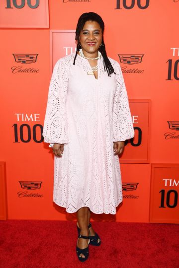 Lynn Nottage attends the TIME 100 Gala Red Carpet at Jazz at Lincoln Center on April 23, 2019 in New York City. (Photo by Dimitrios Kambouris/Getty Images for TIME)