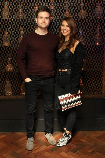 Pictured is Ronan McCarthy and Shauna Corcoran at Everleigh, the award winning club, bar and venue situated in The Dean Hotel, Harcourt Street for the official launch of the Summer Series at Everleigh with CÎROC Vodka. The Summer Series at Everleigh will see LIVE music and performances from Ireland's top entertainers throughout the summer, along with showcasing the latest CÎROC Vodka bottle experiences and bespoke cocktail menu.