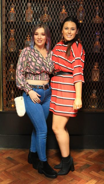 Pictured is Rebecca Hayes and Sinead Egan at Everleigh, the award winning club, bar and venue situated in The Dean Hotel, Harcourt Street for the official launch of the Summer Series at Everleigh with CÎROC Vodka. The Summer Series at Everleigh will see LIVE music and performances from Ireland's top entertainers throughout the summer, along with showcasing the latest CÎROC Vodka bottle experiences and bespoke cocktail menu.
