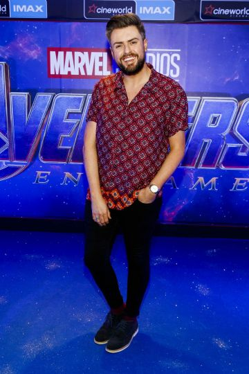 James Patrice pictured at the special preview screening of Marvel Studios' Avengers: Endgame at Cineworld Dublin. Picture by: Andres Poveda