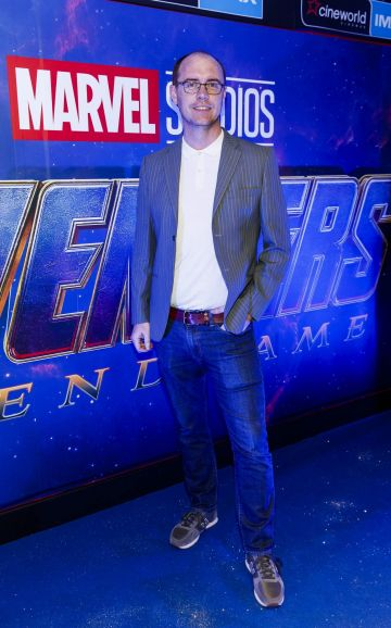 Brian Redmond pictured at the special preview screening of Marvel Studios' Avengers: Endgame at Cineworld Dublin. Picture by: Andres Poveda