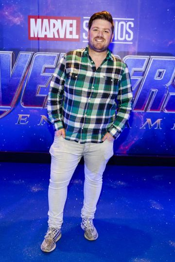 Thomas Crosse pictured at the special preview screening of Marvel Studios' Avengers: Endgame at Cineworld Dublin. Picture by: Andres Poveda