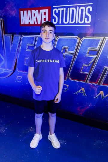 Nate Kelly pictured at the special preview screening of Marvel Studios' Avengers: Endgame at Cineworld Dublin. Picture by: Andres Poveda