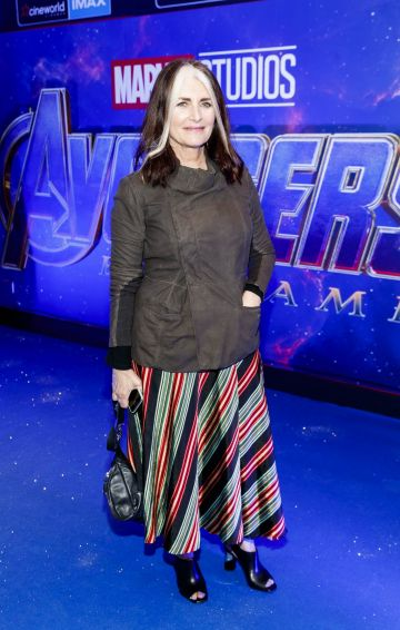 Cathy O'Connor pictured at the special preview screening of Marvel Studios' Avengers: Endgame at Cineworld Dublin. Picture by: Andres Poveda