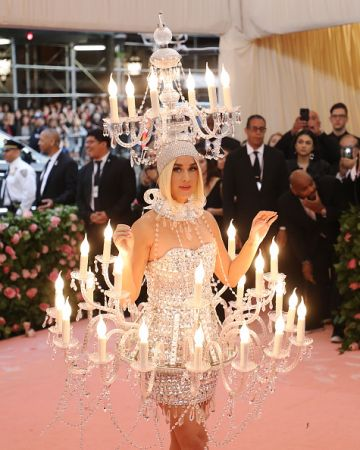 Katy Perry attends The 2019 Met Gala Celebrating Camp: Notes on Fashion at Metropolitan Museum of Art on May 06, 2019 in New York City.  (Photo by Taylor Hill/FilmMagic)