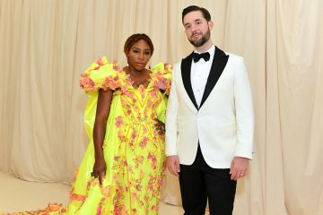 Serena Williams and Alexis Ohanian attend The 2019 Met Gala Celebrating Camp: Notes on Fashion at Metropolitan Museum of Art on May 06, 2019 in New York City. (Photo by Mike Coppola/MG19/Getty Images for The Met Museum/Vogue )