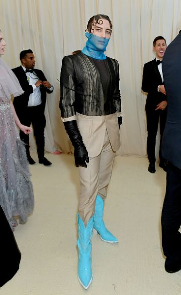 Cody Fern attends The 2019 Met Gala Celebrating Camp: Notes on Fashion at Metropolitan Museum of Art on May 06, 2019 in New York City. (Photo by Mike Coppola/MG19/Getty Images for The Met Museum/Vogue )
