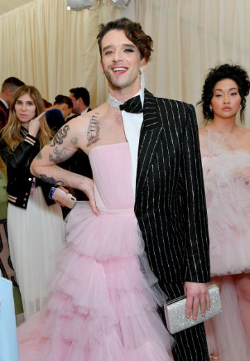 Michael Urie attends The 2019 Met Gala Celebrating Camp: Notes on Fashion at Metropolitan Museum of Art on May 06, 2019 in New York City. (Photo by Mike Coppola/MG19/Getty Images for The Met Museum/Vogue )