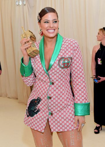 Ashley Graham attends The 2019 Met Gala Celebrating Camp: Notes on Fashion at Metropolitan Museum of Art on May 06, 2019 in New York City. (Photo by Mike Coppola/MG19/Getty Images for The Met Museum/Vogue )