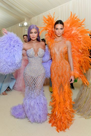 Kendall and Kylie Jenner attend The 2019 Met Gala Celebrating Camp: Notes on Fashion at Metropolitan Museum of Art on May 06, 2019 in New York City. (Photo by Mike Coppola/MG19/Getty Images for The Met Museum/Vogue )