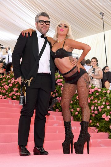 Brandon Maxwell and Lady Gaga attend The 2019 Met Gala Celebrating Camp: Notes on Fashion at Metropolitan Museum of Art on May 06, 2019 in New York City. (Photo by Kevin Mazur/MG19/Getty Images)