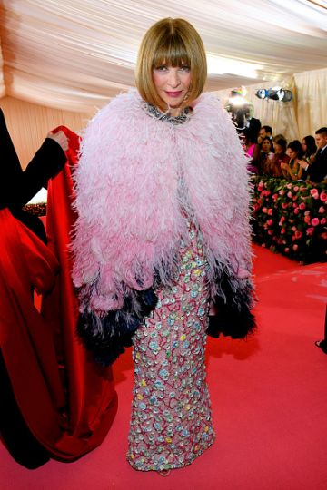 Anna Wintour attends The 2019 Met Gala Celebrating Camp: Notes on Fashion at Metropolitan Museum of Art on May 06, 2019 in New York City. (Photo by Kevin Mazur/MG19/Getty Images)