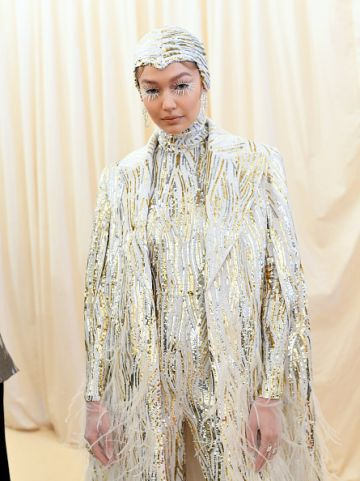 Gigi Hadid attends The 2019 Met Gala Celebrating Camp: Notes on Fashion at Metropolitan Museum of Art on May 06, 2019 in New York City. (Photo by Mike Coppola/MG19/Getty Images for The Met Museum/Vogue )