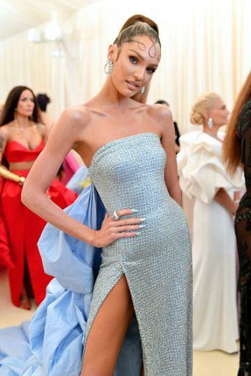 Candice Swanepoel attends The 2019 Met Gala Celebrating Camp: Notes on Fashion at Metropolitan Museum of Art on May 06, 2019 in New York City. (Photo by Mike Coppola/MG19/Getty Images for The Met Museum/Vogue )