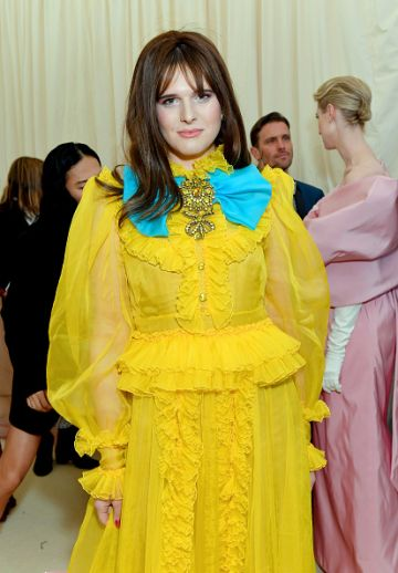 Hari Nef attends The 2019 Met Gala Celebrating Camp: Notes on Fashion at Metropolitan Museum of Art on May 06, 2019 in New York City. (Photo by Mike Coppola/MG19/Getty Images for The Met Museum/Vogue )