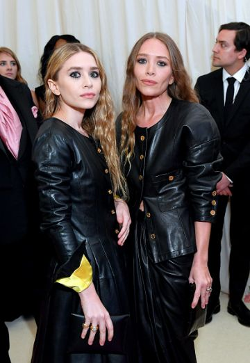 Ashley Olsen and Mary Kate Olsen attend The 2019 Met Gala Celebrating Camp: Notes on Fashion at Metropolitan Museum of Art on May 06, 2019 in New York City. (Photo by Mike Coppola/MG19/Getty Images for The Met Museum/Vogue )