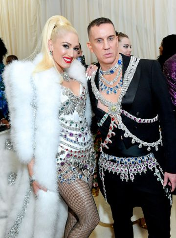 Gwen Stefani and Jeremy Scott attend The 2019 Met Gala Celebrating Camp: Notes on Fashion at Metropolitan Museum of Art on May 06, 2019 in New York City. (Photo by Mike Coppola/MG19/Getty Images for The Met Museum/Vogue )