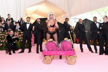 Lady Gaga attends The 2019 Met Gala Celebrating Camp: Notes on Fashion at Metropolitan Museum of Art on May 06, 2019 in New York City. (Photo by Kevin Mazur/MG19/Getty Images)