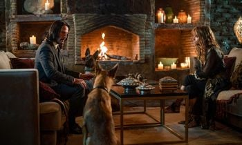 Keanu Reeves and Halle Berry in John Wick: Chapter 3 - Parabellum