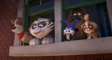 "Kevin Hart, Patton Oswalt, Eric Stonestreet, Nick Kroll, and Tiffany Haddish in <a href=""https://entertainment.ie/cinema/movie-reviews/the-secret-life-of-pets-2-393529/"">The Secret Life of Pets 2</a>"