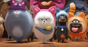 "Lake Bell, Bobby Moynihan, Jenny Slate, and Hannibal Buress in <a href=""https://entertainment.ie/cinema/movie-reviews/the-secret-life-of-pets-2-393529/"">The Secret Life of Pets 2</a>"