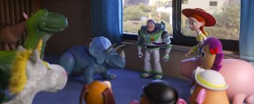 """Tim Allen, Wallace Shawn, Blake Clark, and Kristen Schaal in <a href=""""https://entertainment.ie/cinema/movie-reviews/toy-story-4-394195/"""">Toy Story 4</a>"""