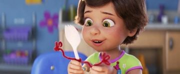 """Tony Hale and Madeleine McGraw in <a href=""""https://entertainment.ie/cinema/movie-reviews/toy-story-4-394195/"""">Toy Story 4</a>"""