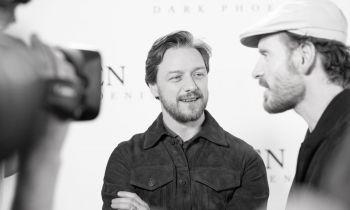 James McAvoy attends the UK Fan Event of X-Men: Dark Phoenix in London.