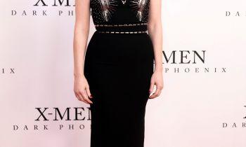 Jessica Chastain attends the UK Fan Event of X-Men: Dark Phoenix in London.