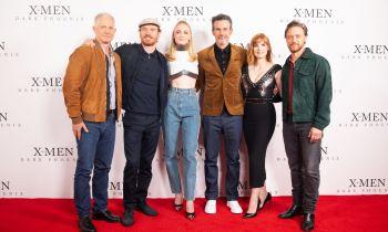 The cast of X-Men Dark Phoenix