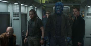 """James McAvoy, Nicholas Hoult, and Michael Fassbender in <a href=""""https://entertainment.ie/cinema/movie-reviews/x-men-dark-phoenix-7257/"""">X-Men: Dark Phoenix</a>"""