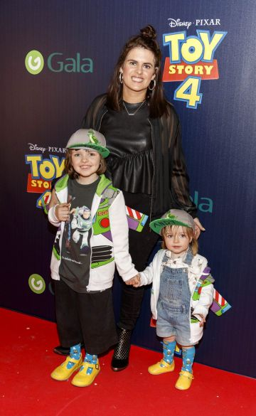 Sooby, Penny and Marnie Lynch pictured at the special event screening of Disney Pixar's TOY STORY 4 in the Light House Cinema Dublin. Picture: Andres Poveda