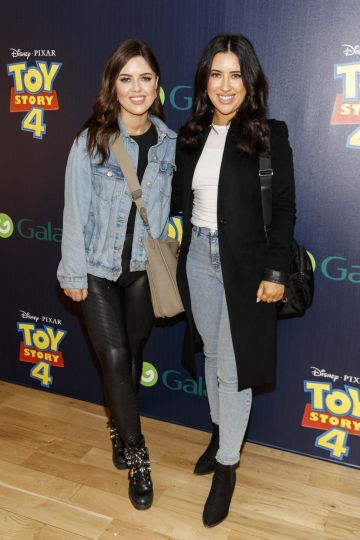 Bonnie and Lottie Ryan pictured at the special event screening of Disney Pixar's TOY STORY 4 in the Light House Cinema Dublin. Picture: Andres Poveda