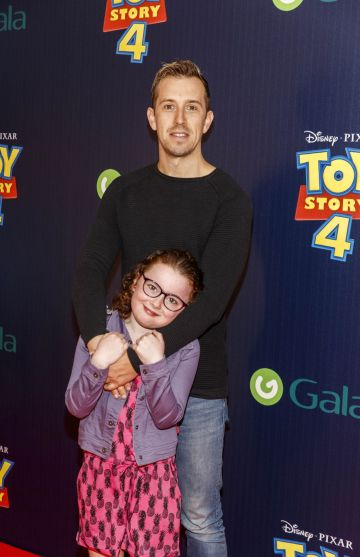 Edie and Luke O'Faolain pictured at the special event screening of Disney Pixar's TOY STORY 4 in the Light House Cinema Dublin. Picture: Andres Poveda