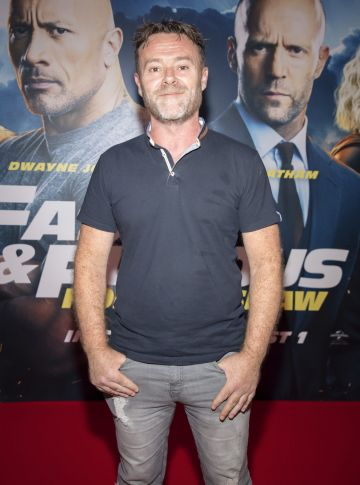 Eric Lalor pictured at a special preview screening of Fast & Furious Presents: Hobbs & Shaw. Photo: Anthony Woods