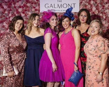 Ada Ryan, Katie Kiely, Catherine Condon, Niamh Lowry, Elaine Doonan from Limerick  Nurse at the #GalmontGirlsSquad competition in the Galmont Hotel and Spa in Galway City. Photo: Andrew Downes, xposure